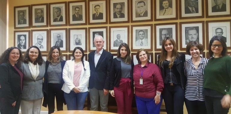 AHF participa de reunião na Secretaria Estadual de Saúde